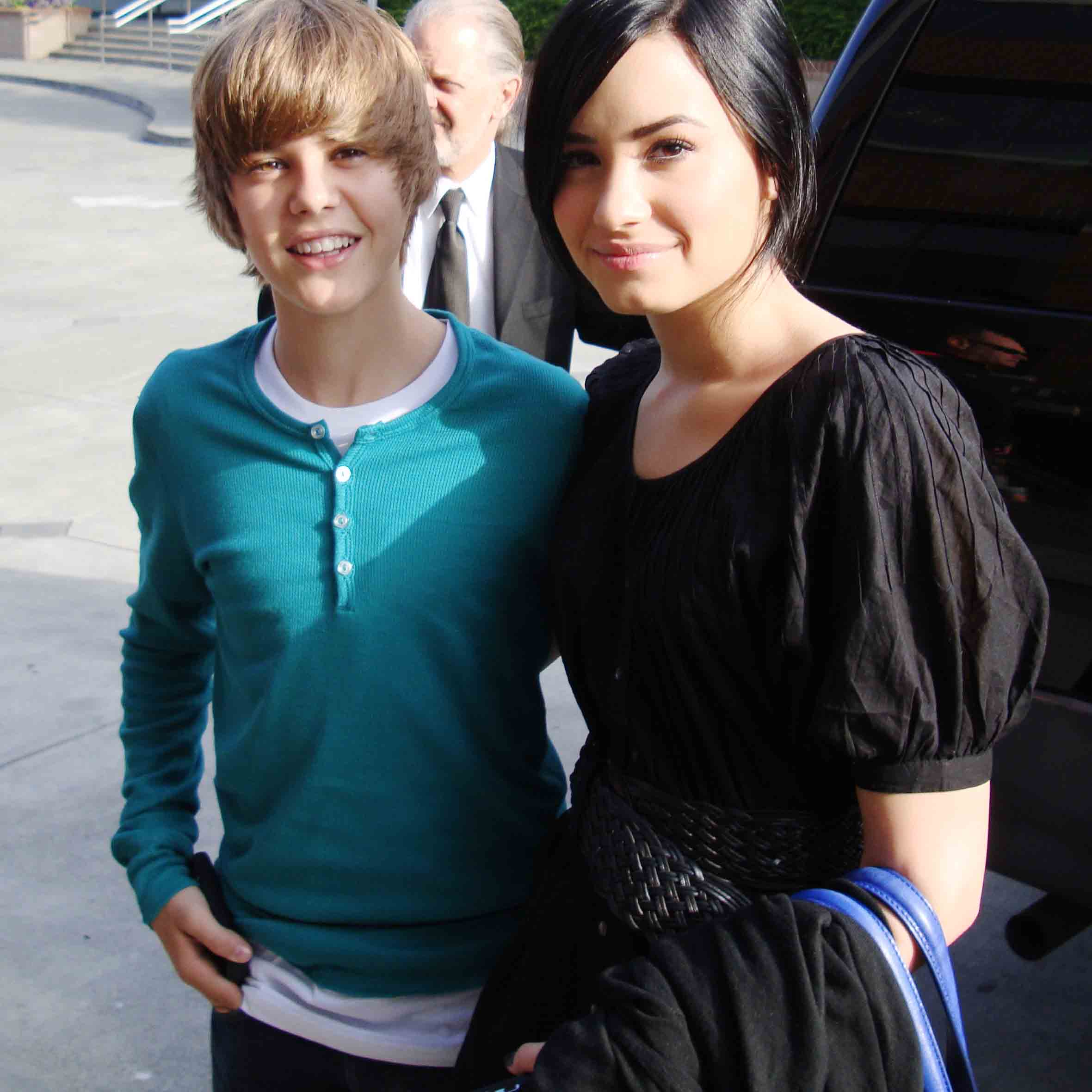 Justin and Demi Lovato DUET!